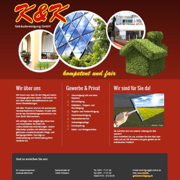 Partner in Babelsberg: K&K Gebäudereinigung